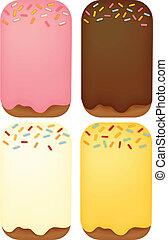 Dessert Background - Vector File EPS10