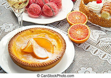 dessert, buffet