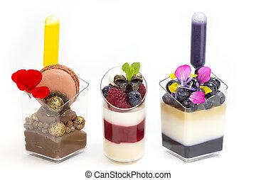 Dessert Canapes