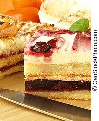 Dessert, closeup