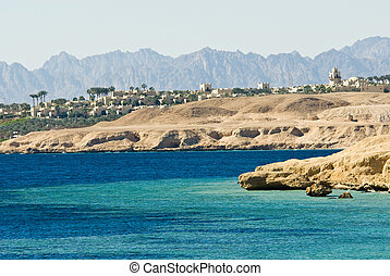 coast of sharm el sheikh - dessert coast of sharm el sheikh,...