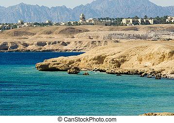 coast of sharm el sheikh - dessert coast of sharm el sheikh,...
