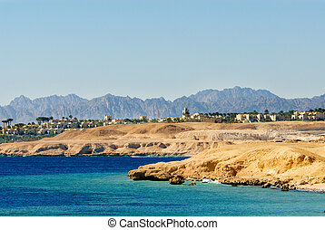 sharm el sheikh - dessert coast of sharm el sheikh, egypt