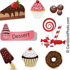 dessert, ensemble