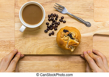 Dessert for Coffee Break / Dessert for Coffee Break Background