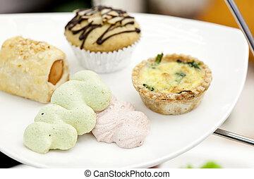Dessert for high tea