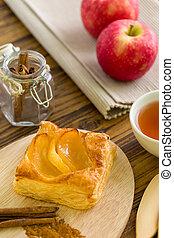 Dessert for Tea Background / Dessert for Tea / Homemade Dessert for Tea Background