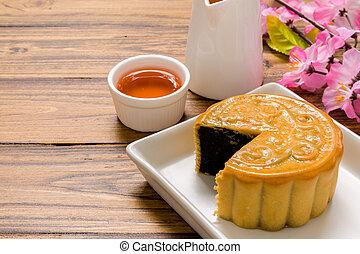 Dessert for Tea / Dessert for Tea Background / Chinese Dessert for Tea Break
