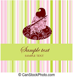 Dessert Menu or Greeting Card