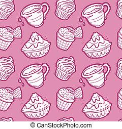 dessert pattern
