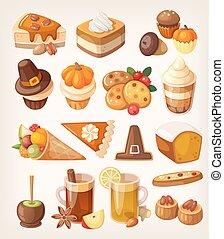 dessert, ringraziamento, giorno