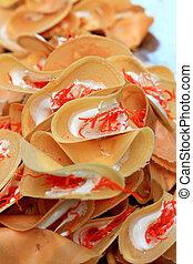 Dessert Thailand - pancake at market