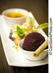 dessert, variété