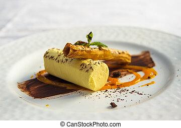 dessert, zich verbeelden