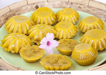 Desserts steamed pumpkin 2