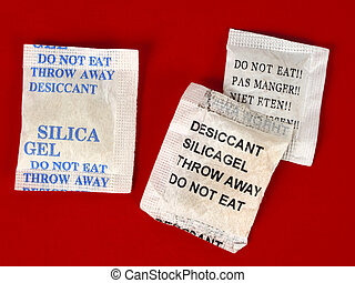 Dessicant, silica gel