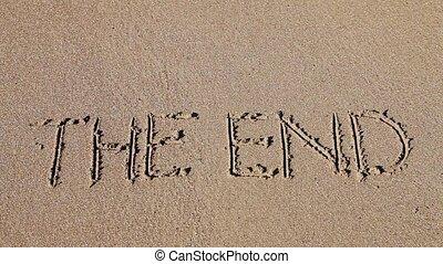 dessiné, sable, fin