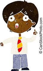 Homme affaires question r ponse dessin anim - Reponse dessin anime ...