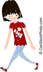 dessin animé, adolescent