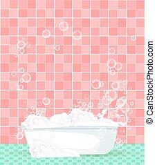 Baignoire dessin anim - Email de baignoire abime ...