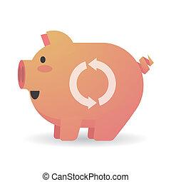 Cochon rose sale propre dessin anim porcin debout - Dessin cochon debout ...