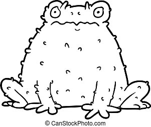 Crapaud dessin anim tabourets illustration vectorielle rechercher des clipart des dessins - Dessin crapaud ...