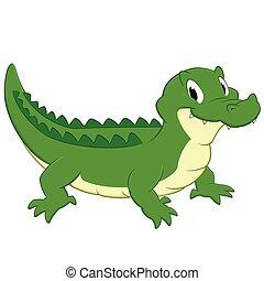 Crocodile dessin anim - Dessin anime crocodile ...