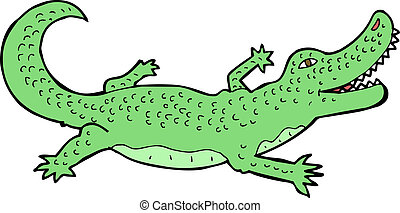 Crocodile dessin anim crocodile vecteur dessin anim vecteurs search clip art - Dessin anime crocodile ...