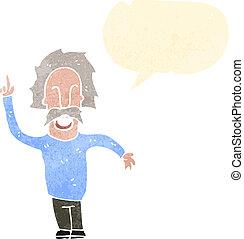 dessin animé, einstein