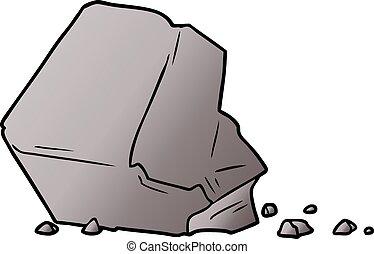 Grand dessin anim rocher - Rocher dessin ...