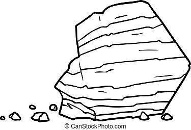Grand dessin anim rocher clipart vectoriel rechercher illustration dessins et images eps - Rocher dessin ...