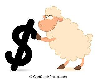 Mouton dessin anim r ves mouton illustration dessin - Mouton dessin anime ...