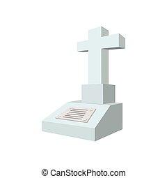Saint projection croix signe religieuse dessin anim clipart vectoriel rechercher - Pierre tombale dessin ...