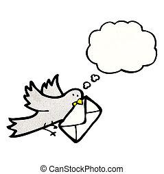 Pigeon voyageur dessin anim sac pigeon voyageur - Voyageur dessin ...
