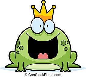 dessin animé, prince grenouille