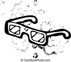 dessin animé, rayon x, spécifications