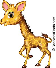 B b rigolote girafe dessin anim elle rigolote - Girafe rigolote ...