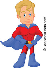 dessin animé, superhero