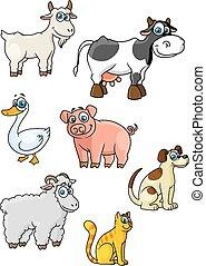 Dessin anim vache debout mignon embl me produits - Dessin cochon debout ...