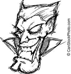 dessin animé, vampire
