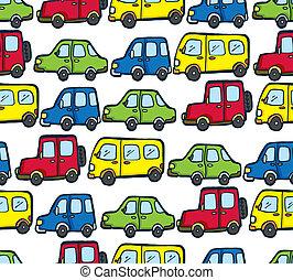 Voiture seamless march mod le dessin anim magasin - Modele dessin voiture ...