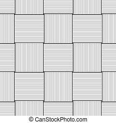 dessin, fond, seulement, noir,  transparent,  basketwork