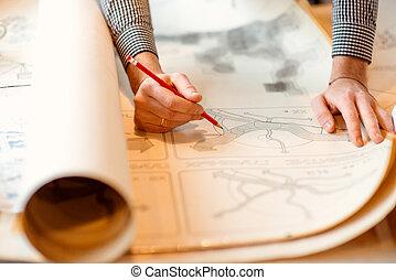 dessins, architectural