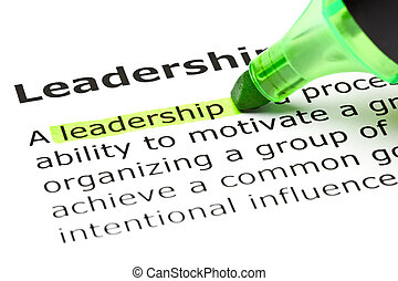 destacado, 'leadereship', verde