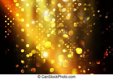 destello, luces de navidad