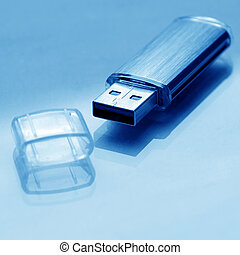 destello, usb, memoria