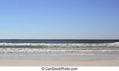 Destin Waves - Waves from the Gulf of Mexico crash against...