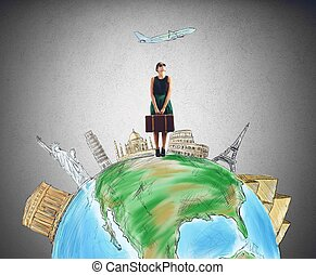 destination, touriste