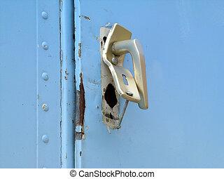 destroyed door lock - door lock destroyed because of...