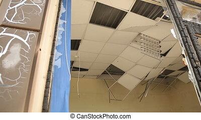 Destroyed Shop in Donetsk